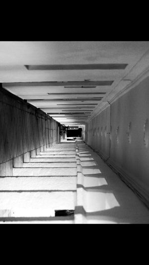 Architecture Built Structure Indoors  Direction Auto Post Production Filter No People Transfer Print The Way Forward Arcade Ceiling Corridor Building Day Diminishing Perspective Absence Tunnel Wall Empty Nature Underpass