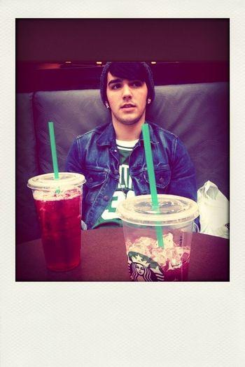 Starbucks with the booooo