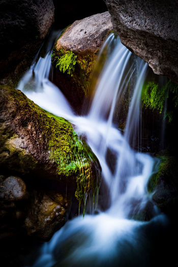 Ronda Ronda Spain Long Exposure Waterfall Waterfall_collection Beauty In Nature Beauty Of Nature Water Rock Scenics - Nature Rock - Object Motion Flowing Water Solid Blurred Motion Nature No People Moss Forest Tree Land Flowing Non-urban Scene Outdoors Falling Water Power In Nature Stream - Flowing Water Purity Rainforest