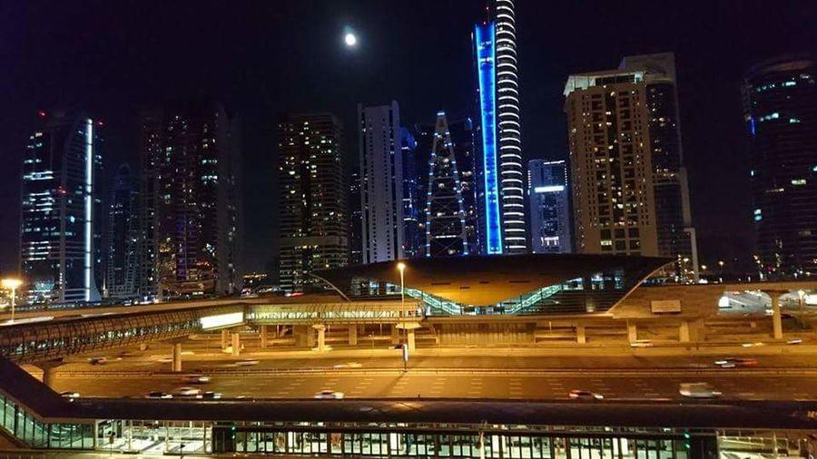 Moon over JLT, Dubai First Eyeem Photo