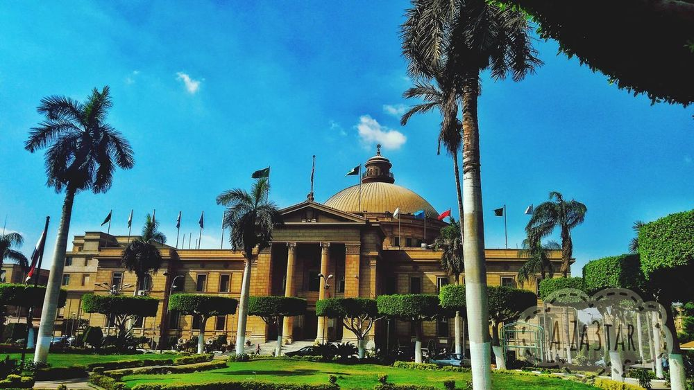 Architecture Built Structure Tree Sky Architectural Column History Outdoors Building Exterior Statue Day No People Politics And Government Cairo University Scenics Cairo Egypt Tranquility Cloud - Sky Arts Culture And Entertainment Egyptdailylife Dramatic Sky Beauty In Nature Architecture Grass Tree Landscape