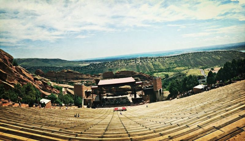 Getting ready for the Avett Brothers concert tonight at Red Rocks...can't wait!!! Concert Rocky Mountains Landscape_Collection Don't Be Square
