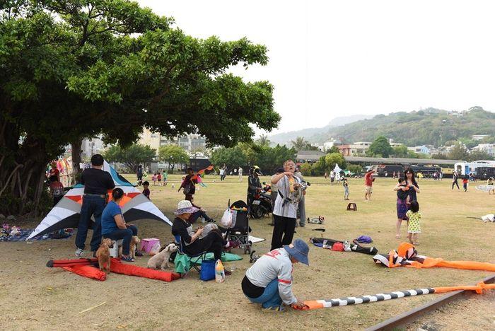 Kaohsiung Kaohsiung, Taiwan Traveling Fieldwork Kite Flying Sizihwan Kaohsiung Sizihwan