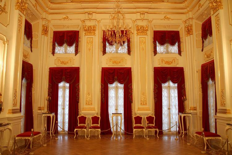 Ballroom Radzivills Family History Golden Hour Nesvizh Castle