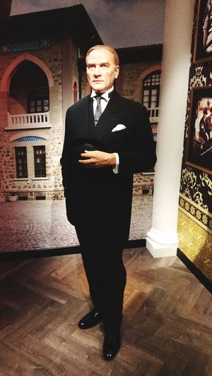 Atatürk One Person Standing Looking At Camera Full Length Real People Portrait Indoors