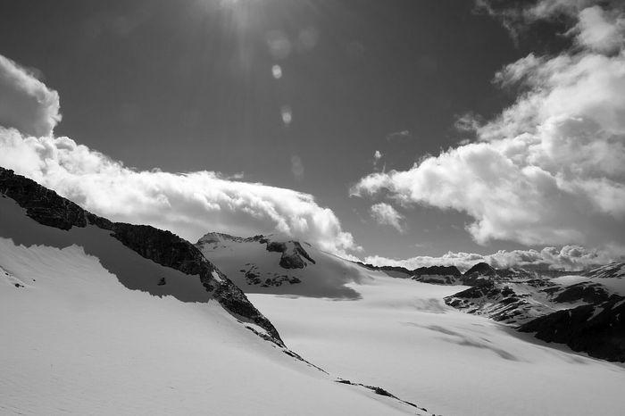 Adamello Adamelloski Mirrorless Black & White Glacier Mountains Italy