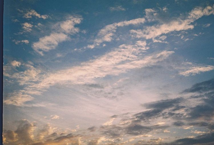 Cloud - Sky Sky Beauty In Nature Scenics - Nature Tranquility Low Angle View Tranquil Scene No People Nature Sunset Outdoors Day Idyllic Backgrounds Full Frame Awe Sunlight Non-urban Scene Meteorology