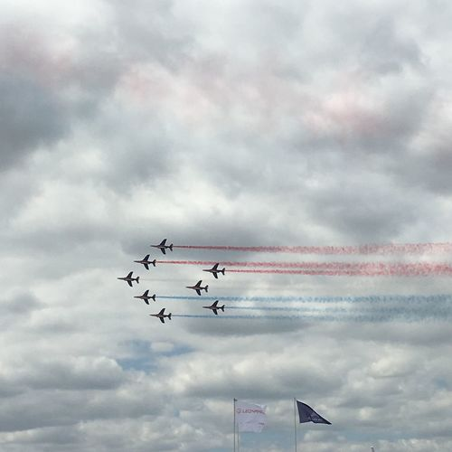 Patrouille De France Le Our Get Airshow Airplane Military Airplane France