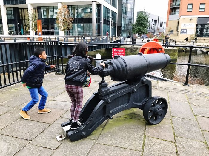 Kids Being Kids Adam Miah Amelia Miah Leeds Leeds Dock