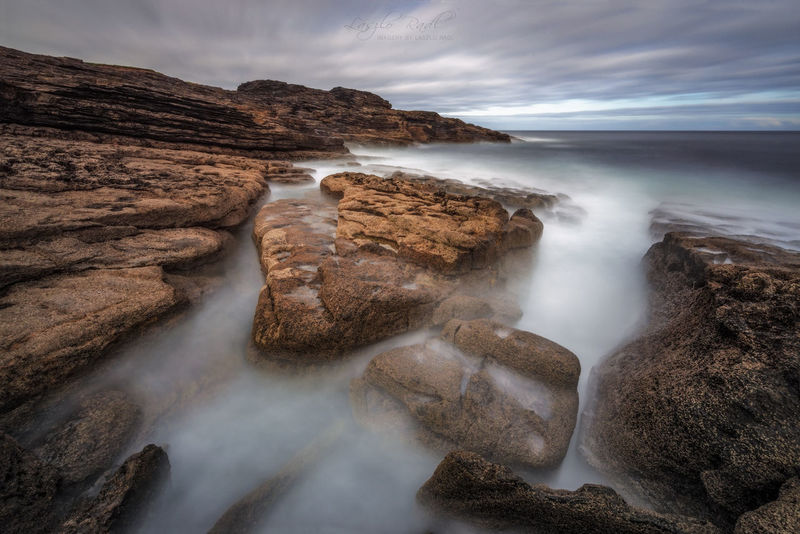 Been There. Beach Beauty In Nature Day Horizon Over Water Long Exposure Motion Nature No People Outdoors Rock - Object Scenics Sea Sky Tranquil Scene Tranquility Water