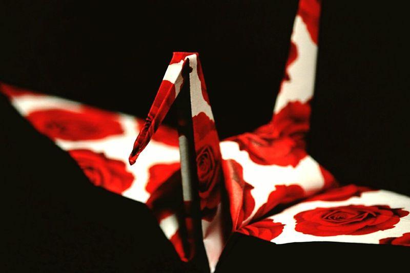 折り鶴 Japanese Art EyeEm Gallery Art Enjoying Life 写真撮ってる人と繋がりたい 写真好きな人と繋がりたい Canon 緋の世界久しぶりに折り紙で鶴を……