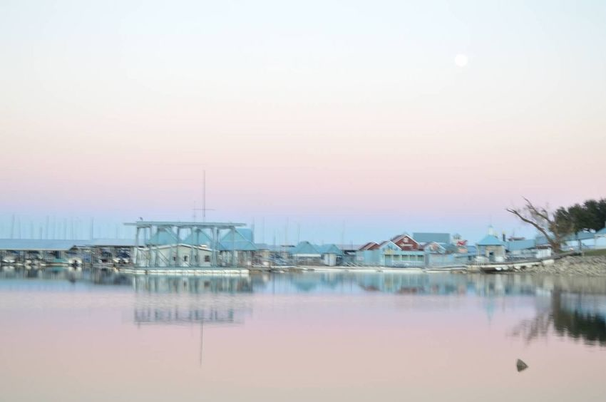 twilight zone Pastel Power Harbor Rockwall Texas Water Water Reflections Adventure Pastel Pink No People Manmade Landscape Wide Angle Tranquility Sunset Skyline