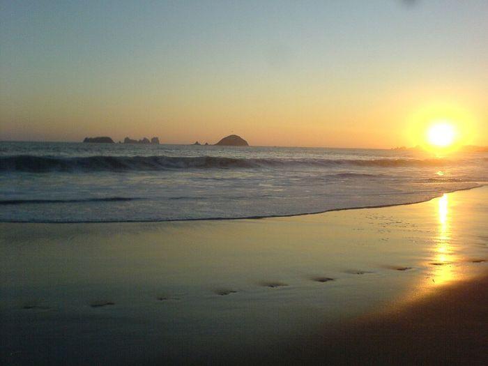 Sunset Ixtapa Beach