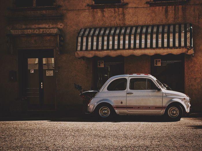 Fiat Abarth 595 EyeEm Best Edits OpenEdit Vscocam VSCO Car Vintage Cars Vintage Carnia EyeEm Best Shots EyeEm EyeEmBestPics Colors Colorphotography
