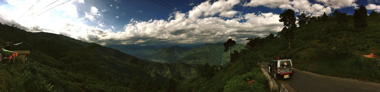 Freshness Sky Sun Outdoors Beauty In Nature Mountain Range Mountain Landscape Sunlight Autumn DARJEELING BEAUTY Darjeelingdiaries Darjeeling Darjeeling India Tranquility Nature Tree Forest Woods And Color Darjeeling Himalayas