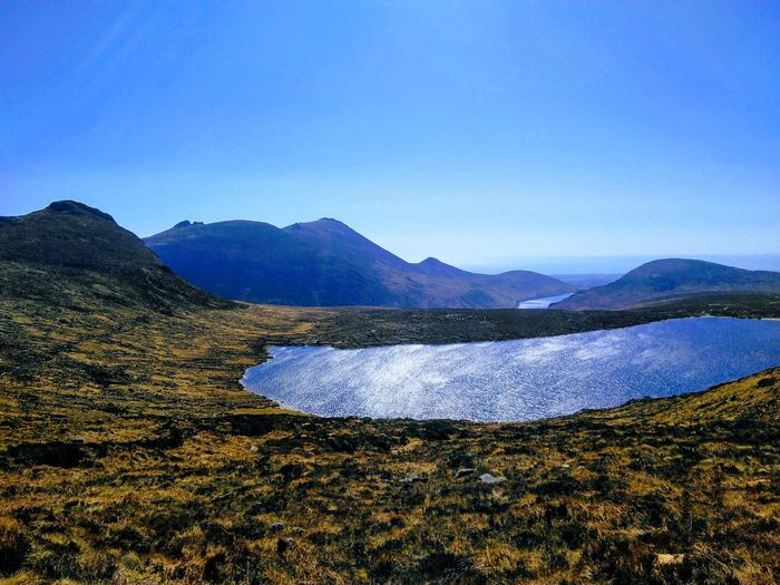 Spelgadam mourne mountains Scenics - Nature Tranquil Scene Tranquility No People Mountain Range Landscape Clear Sky
