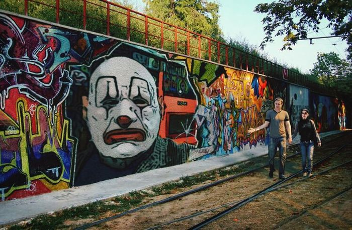 A masterpiece if I do say so myself! Graffiti Clownsec Street Art