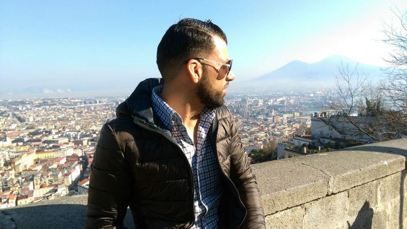 Napoli Photo♡ Hello World City Looking That's Me Enjoying Life Lifestyles Day Relaxing Men Terrace Afternoon Natale  Christmastime Christmas Day Christmas Holidays