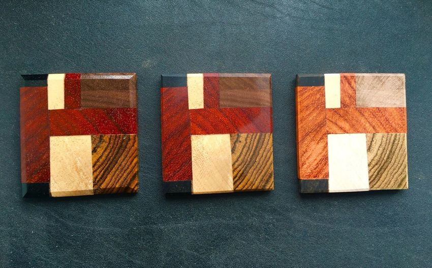 Woodencoasters Wooden Woodworking Shoptime Exoticwood Exotic