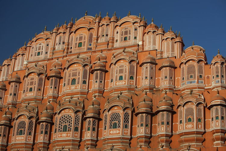 Low angle view of palace