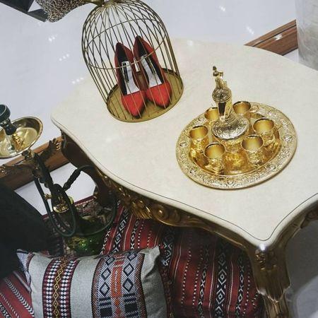 Oriental Style Heels Red Stylish