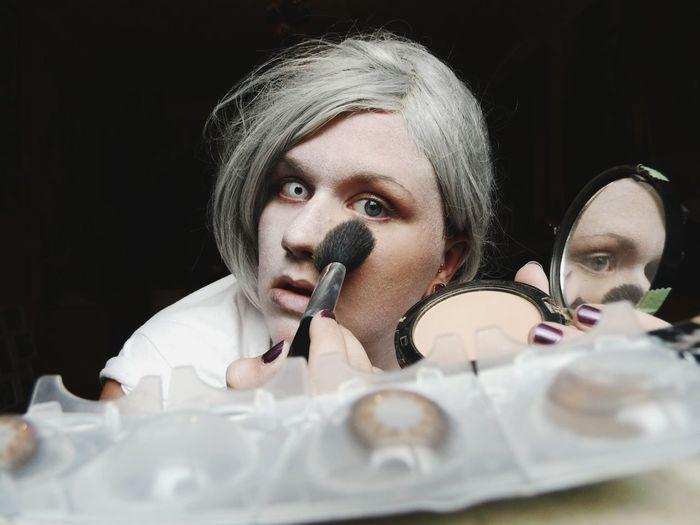 Happy Halloween Human Disguise. Spooky ContactLenses Zombie Disguise EyeEm Best Shots Spooky Eyes EyeEm Spooky People Of EyeEm Fresh On Market 2018