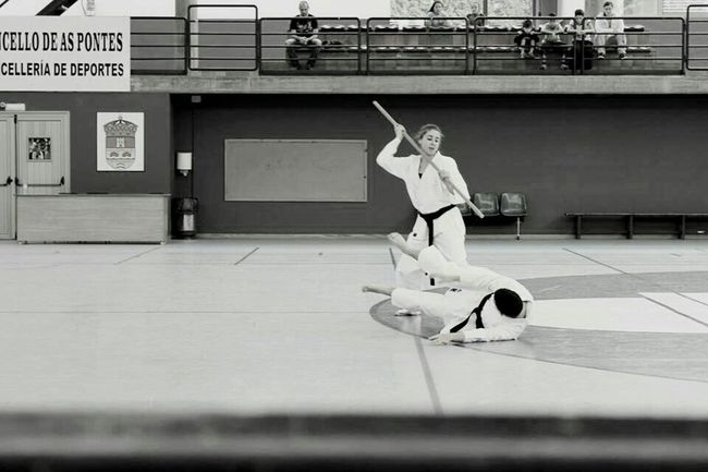 Blackandwhite My Hobby Karategirl Thats Me