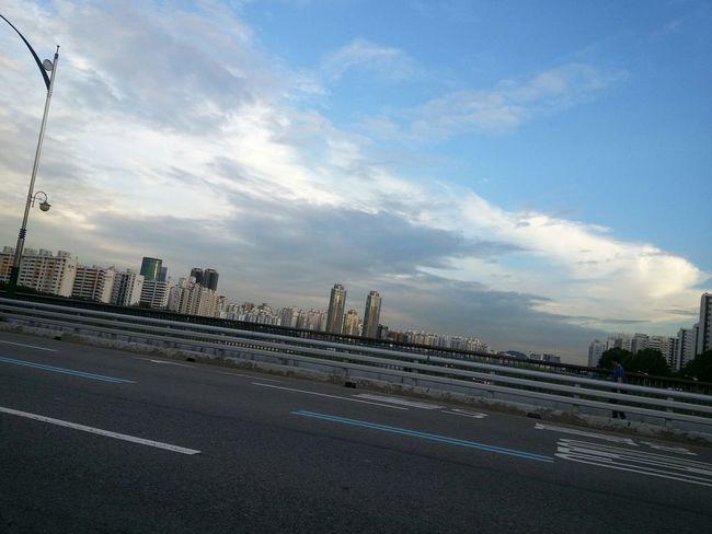 Skyline Enjoying Life