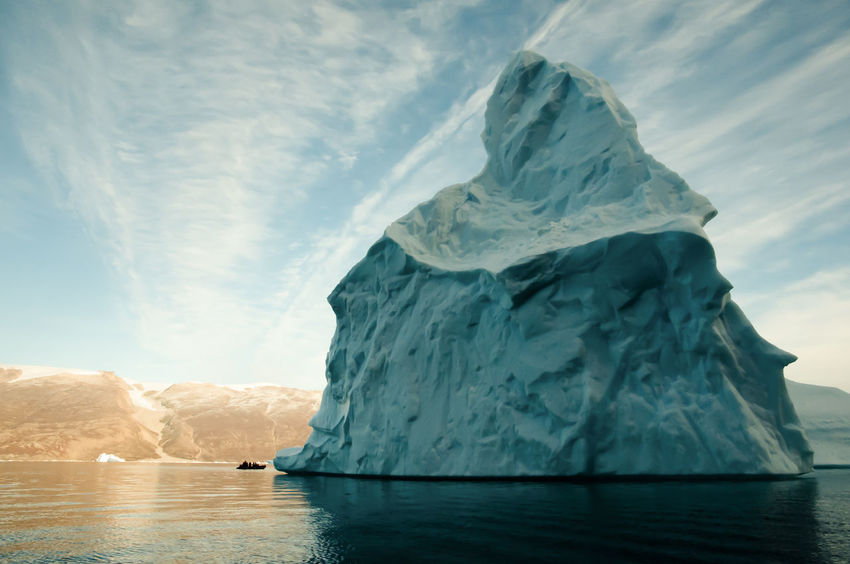 Giant Iceberg - Scoresby Sound - Greenland Giant Greenland Ice Arctic Cold Temperature Frozen Glacier Iceberg Scoresby Scoresby Sound Scoresby Sund