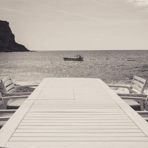 Boat Sea Sea