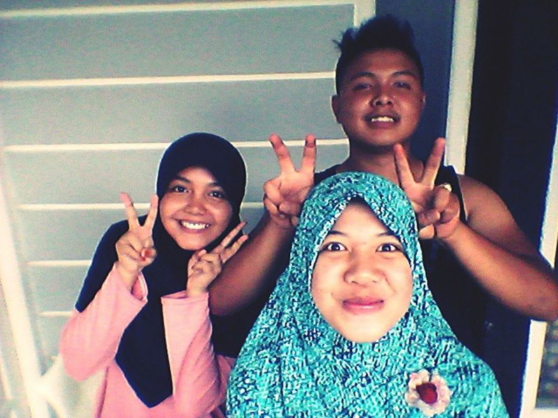Reunite with my brother & sister :D Brotherhood Brother & Sister Happy Family! ❤