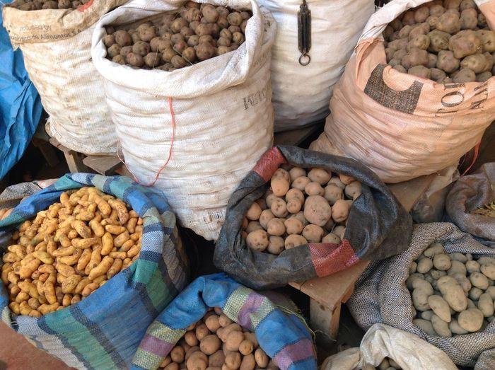 Potatoes Abundance Food