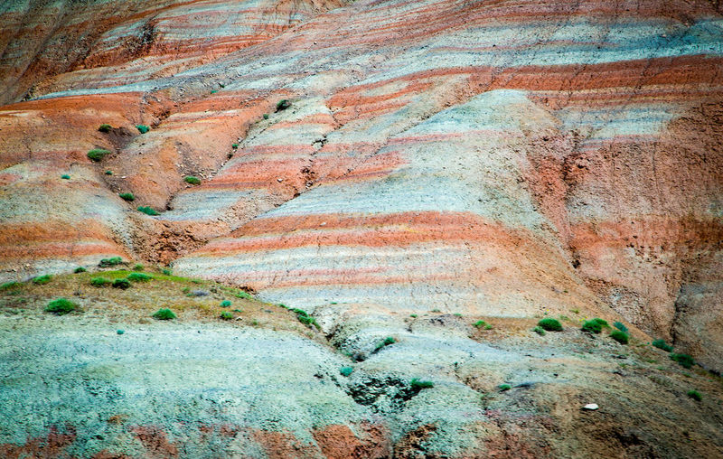 Backgrounds Abstract Full Frame Textured  Rough Pattern Multi Colored Close-up No People Ink Day Mountain палитра глина Azerbaijan