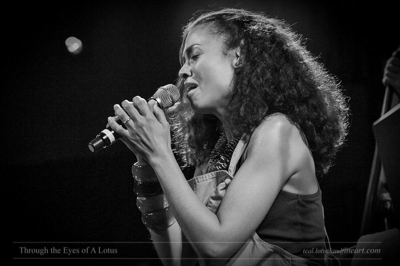 Amel Larrieux, October 2010. Black And White Concert Photography Singer  Flashbackfriday
