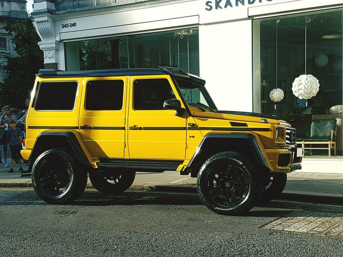 Yellow Mode Of Transport Transportation Car Land Vehicle Parking No People City Fire Engine Outdoors Day Travel Design Luxury Adults Only Mercedes-Benz London Money Wannahave