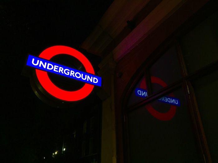 London Underground London Sign Illuminated Tube The Tube  Station Kennington London Transport LRT Tfl Metro Subway Station EyeEm LOST IN London The Week On EyeEm