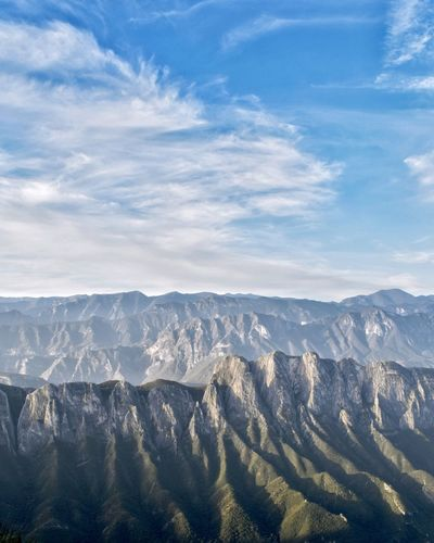 Mountains as far as the eyes can see Triumph negative space Hiking Mountain Range Scenery Scenic Mountain Scenics - Nature Beauty In Nature Mountain Range Tranquility Environment Tranquil Scene Landscape Cloud - Sky Sky Nature No People Day Outdoors Sunlight My Best Photo My Best Photo