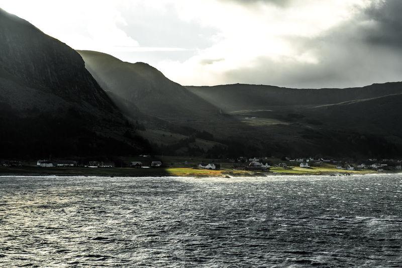 Dark Landscapes of Norway Dark Hurtigruten Norway Perspectives On Nature Winter Boat Cruise Darklands Fjords Landscape The Great Outdoors - 2018 EyeEm Awards