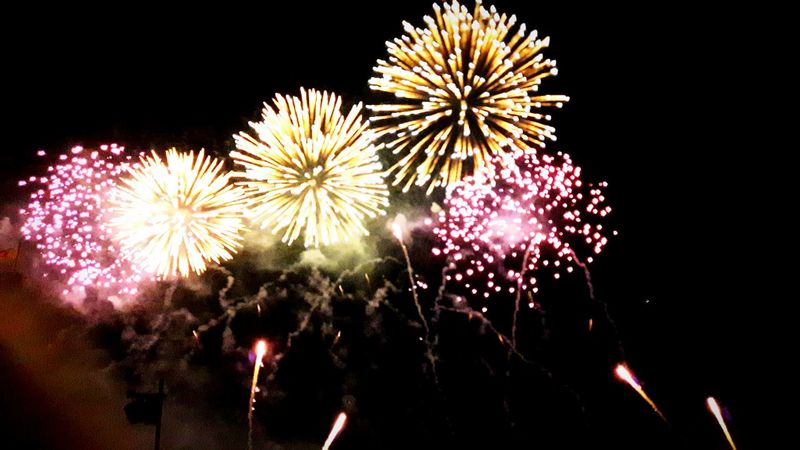 Firework Display Celebration Exploding Arts Culture And Entertainment Night Event Illuminated Outdoors Sky Multi Colored Firework