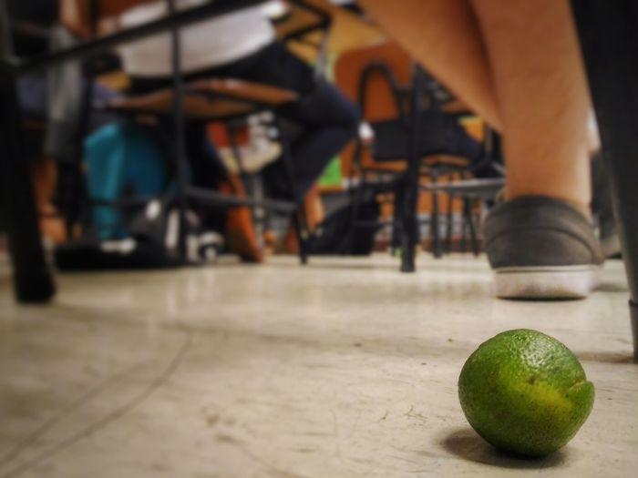 Velasco De La Salle University Fruit Calamansi School Floor