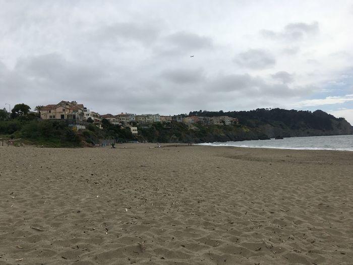Baker Beach San Francisco California Beach Land Water Sand Cloud - Sky Sea Sky Nature Trip Outdoors Holiday Day Coastline Beauty In Nature