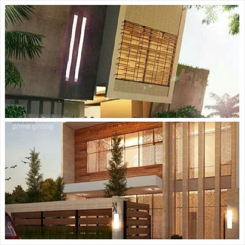 Ready to fight... choose one :) Architecturedesign Architecturelover Designarchitecture Desainrumah residential facade 3drendering 3darchitectural conceptualdesign conceptualarchitecture sketchuprender sketchupvray sketchup fancy