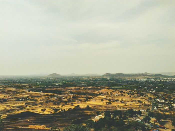 Mountains Trees Sky Houses Height Caves Pune Lenyadri Tiny Small Mountains And Sky Mountains And Valleys Farms Junnar City VSCO