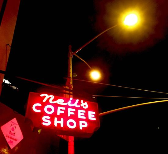 Nighttime in SoHo Illuminated Neon Sign New York New York City Newyorkcity Night Sign Street Street Light Soho Iphone6 IPhoneography Nightphotography Night Lights Neon Pink