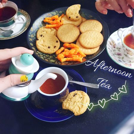 Peacful Day Afternoon Tea Tea Time