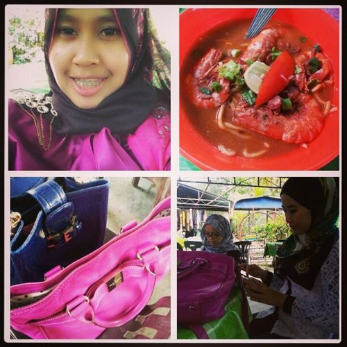 Happy face dapat makan mee udang in Penang! Meeudang Instafood Foodporn Sajianselera linazahrah