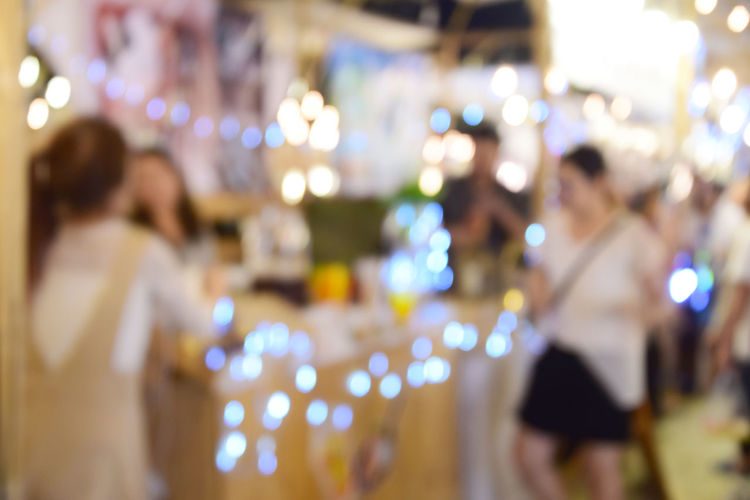 blur image food at night festival with bokeh background Business Celebration Circle City Cityscape Colors Dark Event Fashion Backgrounds Blue Blur Bokeh Building Ciub Clown Decoration Defocused Dowtown Evening Festival Festive Food Glow Group