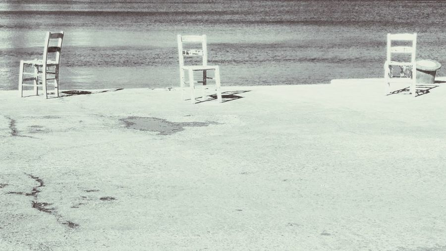 Three Empty Chairs