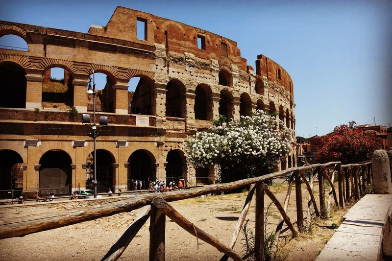 Coliseo Architecture Built Structure Building Exterior Sky Nature History Clear Sky Travel Destinations