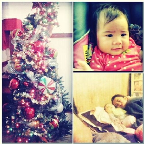 First christmas... Sophie lahapa :) fattahhbulahh